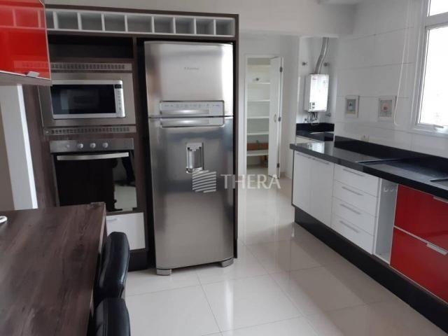 Apartamento com 3 dormitórios para alugar, 135 m² por r$ 5.000/mês - vila léa - santo andr - Foto 6