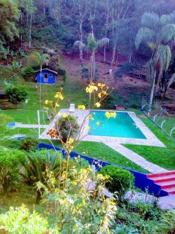 Chácara para festa com piscina,cachoeira,campo de futebol,pesqueiro - Foto 2