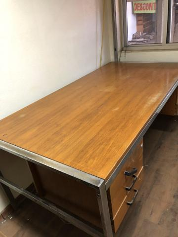 Mesa de madeira pura - Foto 4