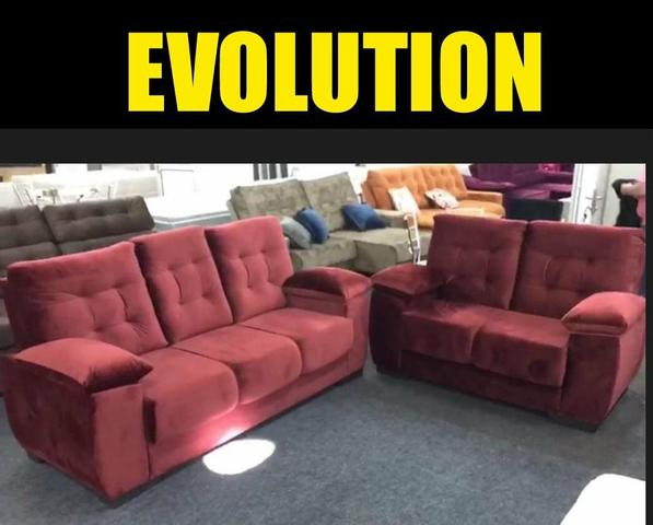 Sofá Evolution 3x2 NOVO - Foto 5