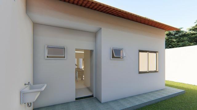Casa até ZERO entrada 2 quartos - Foto 3