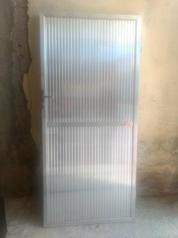 Portao de alumínio