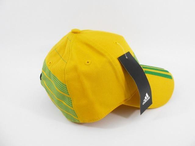 b6324a3e361c7 Boné adidas Brasil Aba Curva 3 Stripes - Bijouterias, relógios e ...