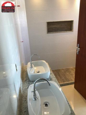 Duplex novo - 3 quartos sendo 2 suítes - fino acabamento - Foto 8