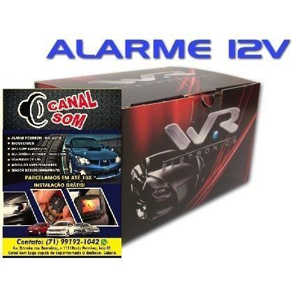 Alarme C/ Bloqueador WR, Top! 139,99 À Vista ou 12x 14,00 Canal Som Cabula