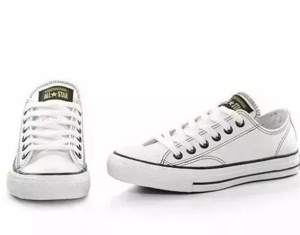 c07c5ced0fe Tênis Converse All-star Couro Unissex 109 - Roupas e calçados ...