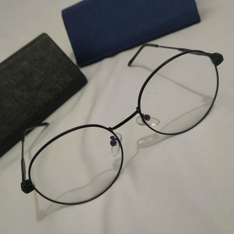 65b88a10eda87 Armação para óculos de Grau - Retrô Preto - Bijouterias