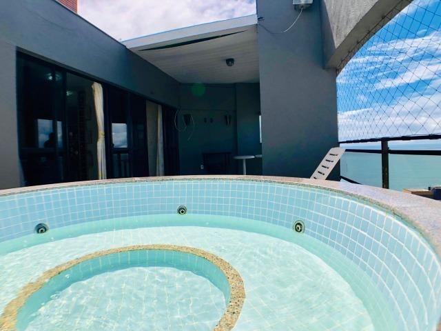 Cobertura duplex na Praia de Iracema com 130m com Vista para Espetacular - Foto 15