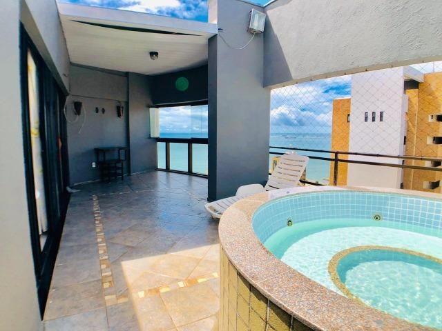 Cobertura duplex na Praia de Iracema com 130m com Vista para Espetacular - Foto 18