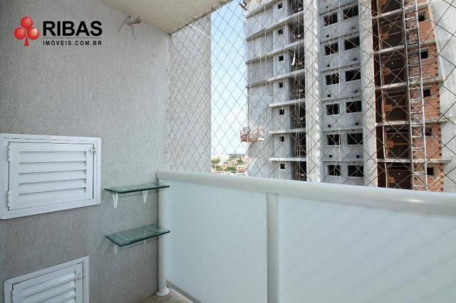 Apartamento com 3 dormitórios para alugar, 78 m² por r$ 2.000,00/mês - capão raso - curiti - Foto 4