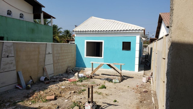 Lindíssima casa em Itaipuaçú com cozinha americana! - Foto 2