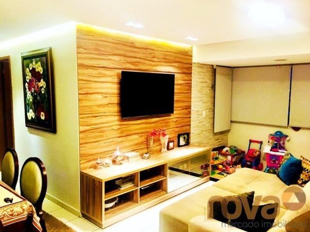 Apartamento à venda com 3 dormitórios em Parque amazônia, Goiânia cod:NOV235844 - Foto 18