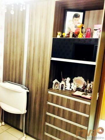 Apartamento à venda com 3 dormitórios em Parque amazônia, Goiânia cod:NOV235844 - Foto 13