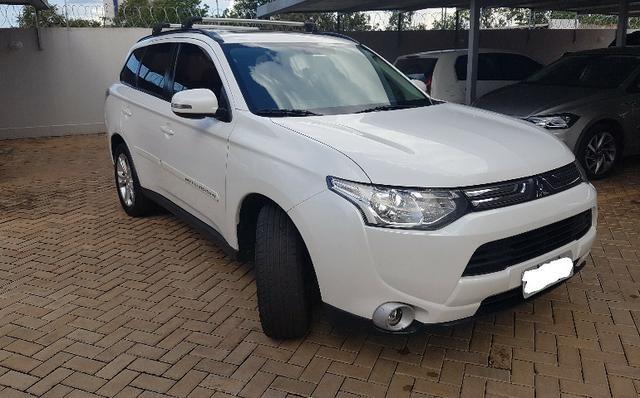 Mitsubishi Outlander 2014 - Branco Perolizado - Foto 5