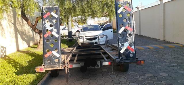 Carrera Prancha- transporte Carro