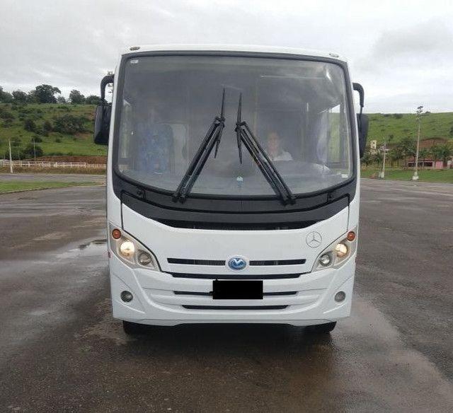 Micro ônibus rodoviário Mercedes bens com ar condicionado - Foto 4