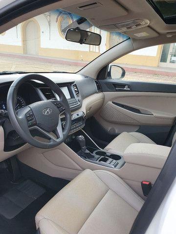 New Tucson GLS 1.6 turbo + interior bege + teto panorâmico - Foto 15