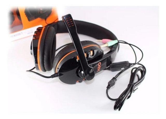 Headset Gamer (para PC) Oex Action Hs200 em Fortaleza - Foto 4