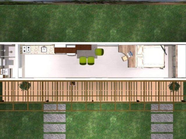Casa container, escritorio, pousada, kitnet em Caldas Novas - Foto 2