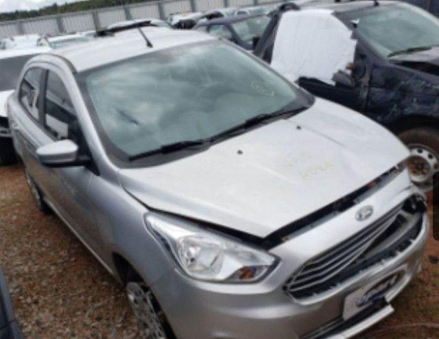 Sucata peças ford ka sedan 1.5