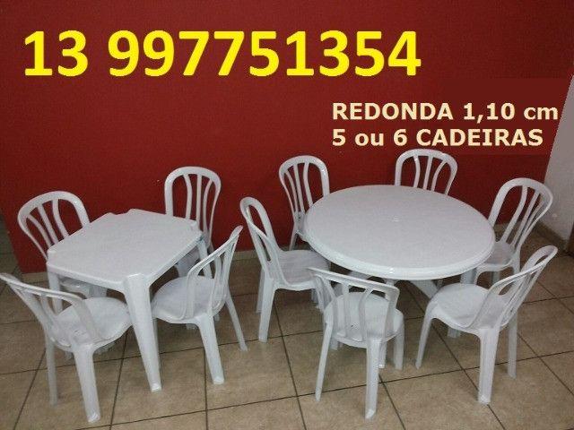 Mesas Redondas 1,10 cm vendo - Foto 6