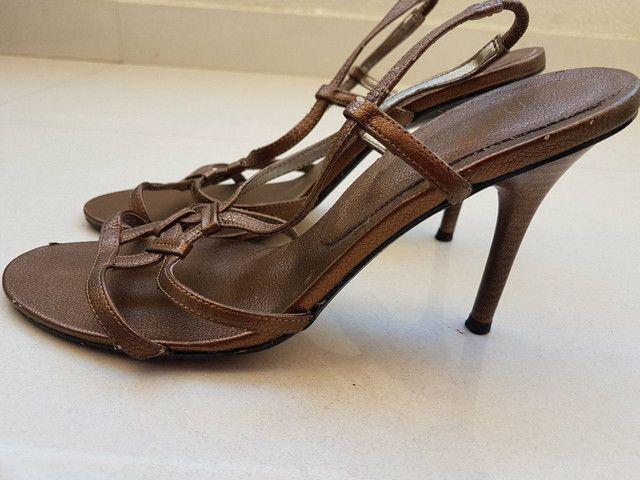 Sandalia de salto fino  - Foto 2
