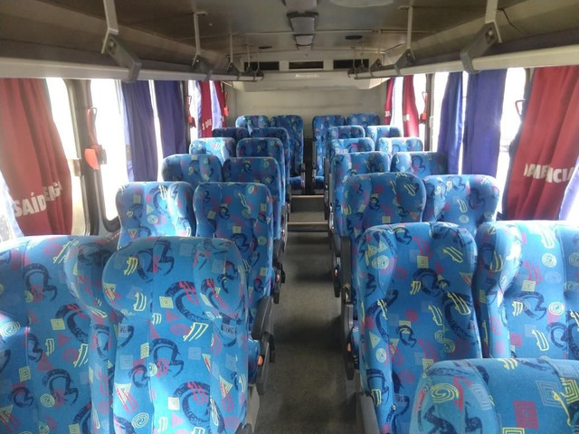 Micro ônibus rodoviário Mercedes bens com ar condicionado - Foto 6