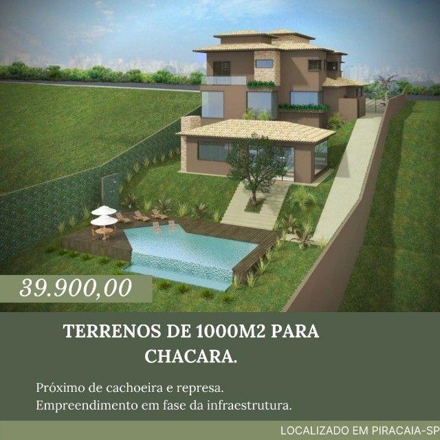 LG_ Vende-se lotes de 1000m2 em Piracaia