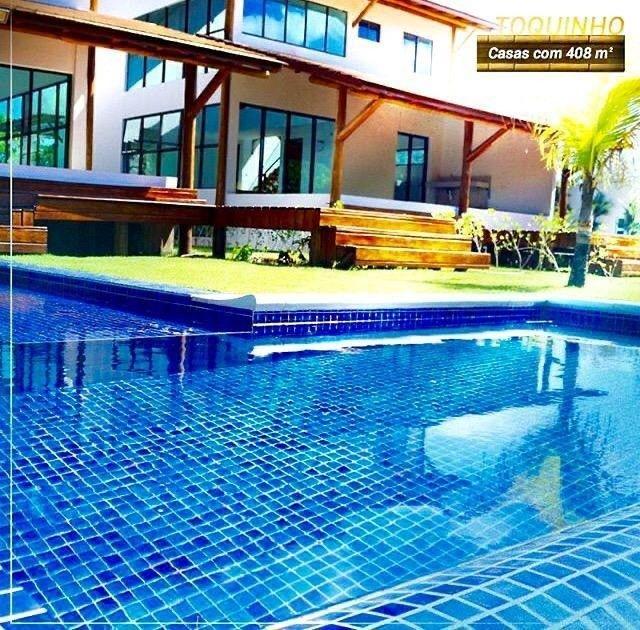 AC- B A I X O U ! Casa na praia de toquinho com 7suites  - Foto 7