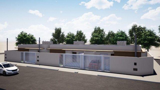 Casa em fase de acabamento - Vila Palmira
