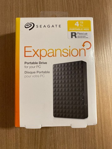 Hd externo 4tb Seagate Expansion