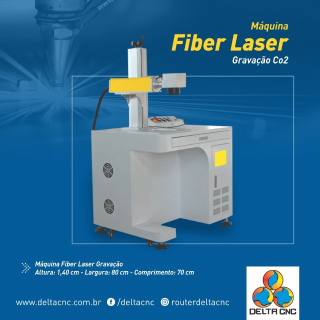 Máquina de Gravação Fiber Laser  - Foto 3