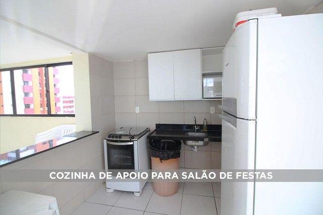 Apartamento com 2 dormitórios à venda, 65 m² por R$ 320.000,00 - Cabo Branco - João Pessoa - Foto 15