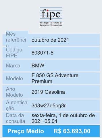BMW F850 GS Adventure Premium com 2 anos de garantia - Foto 9