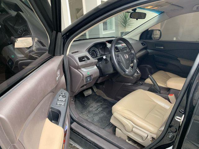 Honda CR-V 2013 LX interior bege  - Foto 4