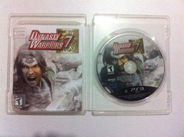 Usado - Dynasty Warriors 7 para PS3 - Foto 2