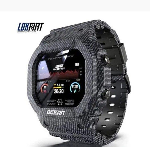 relógio smartwatch lokmat