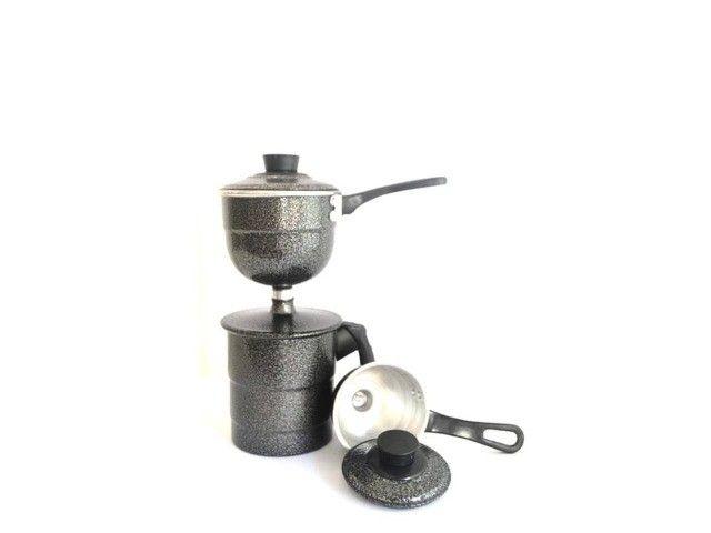 Cuscuzeiro A vapor 2 Conchas