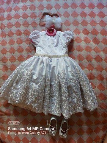 Vestido festa bebê  - Foto 2