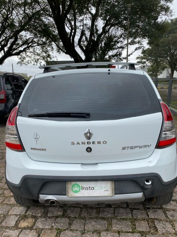 Renault Sandero Stepway 1.6 16v automático 2013/2013 branco - Foto 4
