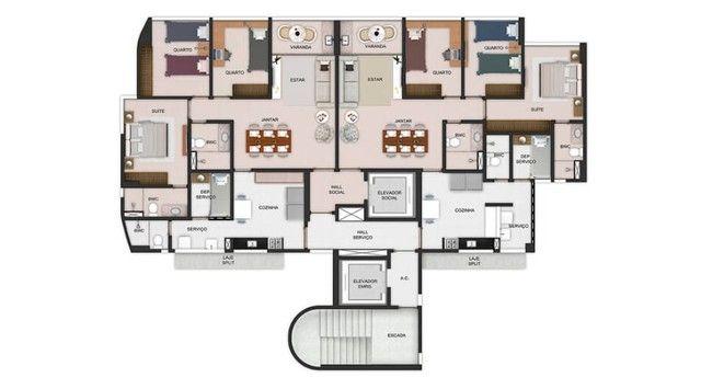 MD   Andar alto Antônio e Julia Lucena - 3 quartos (91m²) em Boa Viagem - 2 Vagas - Foto 16