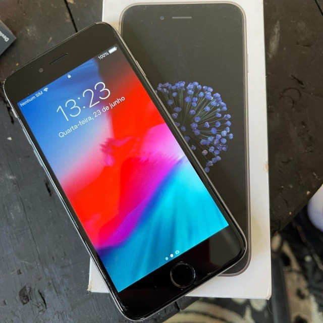 Iphone 6 64gb não troco - Foto 2