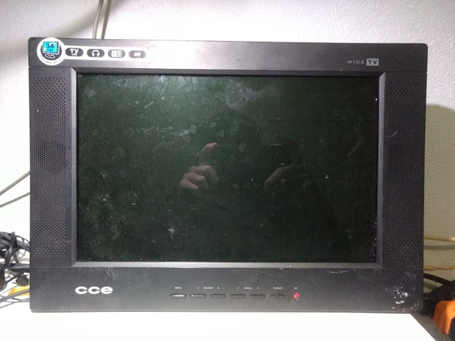 """Tv LCD CCE 14"""" 34cm  - Foto 2"""