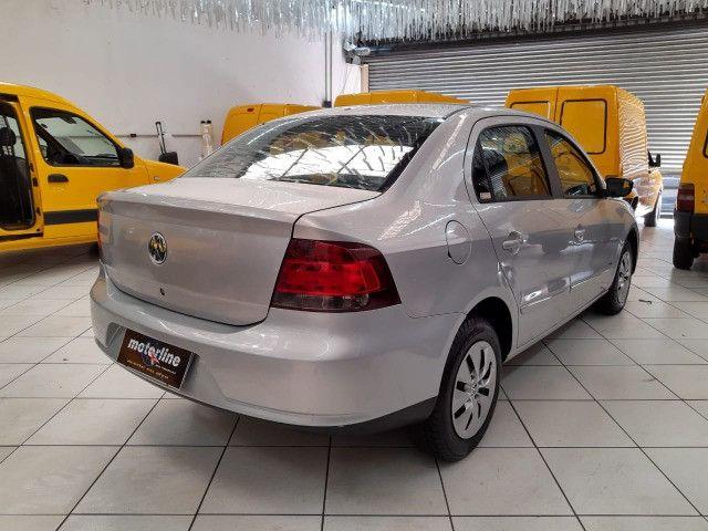 Volkswagen Voyage 1.6 Trend 4p Flex 2009 Prata Completo Muito Novo Doc OK - Foto 4