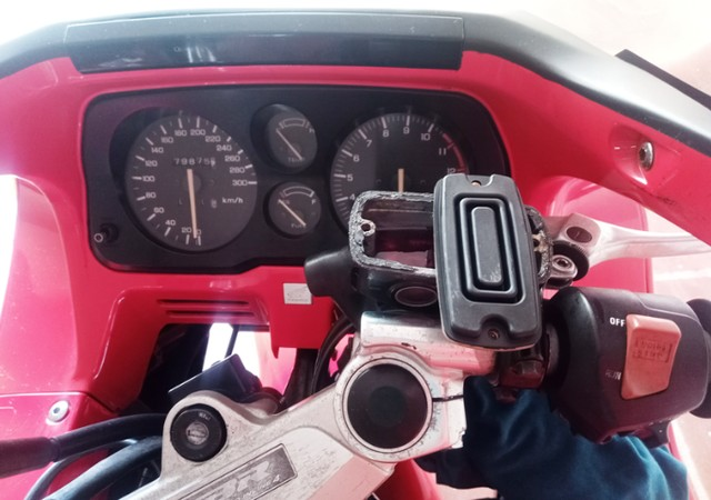 Honda CBR 1000F 1993 Vermelha, Raridade, Toda original - Foto 9