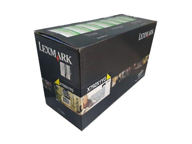 Toner Lexmark X792X1YG Yellow Original Novo - Foto 2