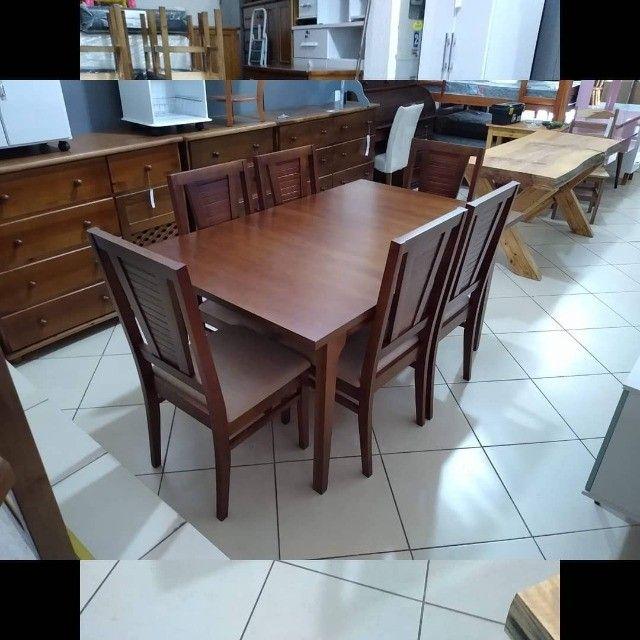 Mesa de jantar 6 cadeiras