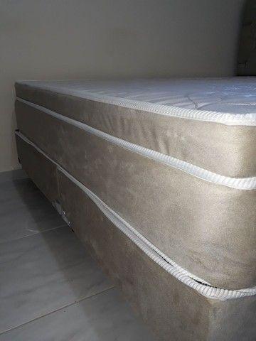 Colchão box e cabeceira  - Foto 6