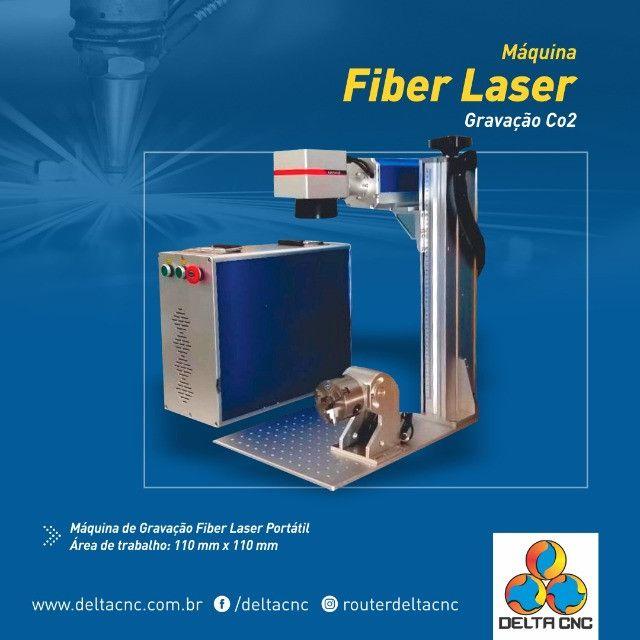 Máquina de Gravação Fiber Laser  - Foto 4
