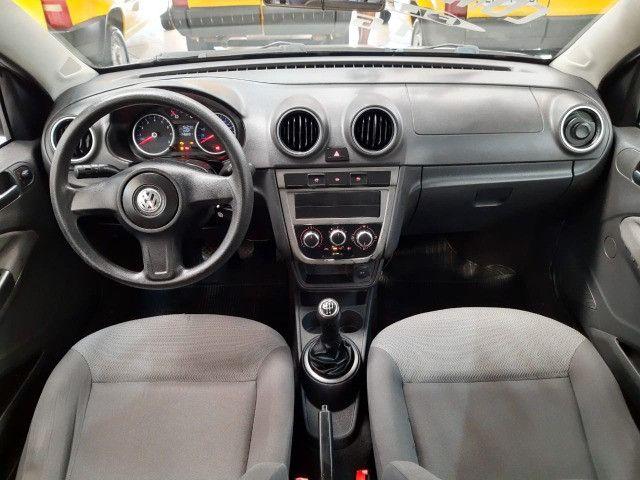 Volkswagen Voyage 1.6 Trend 4p Flex 2009 Prata Completo Muito Novo Doc OK - Foto 9